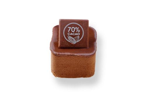 Čokoládová kostka 70% kakaa - dezert z EatPerfect.cz