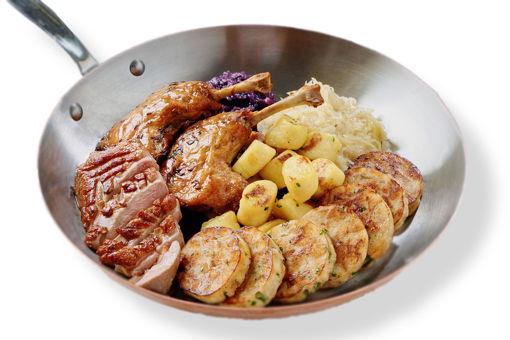 """Kachní """"hostina"""" - chlazené jídlo s doručením po celé Praze."""