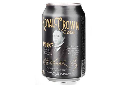 Royal Crown cola classic plech