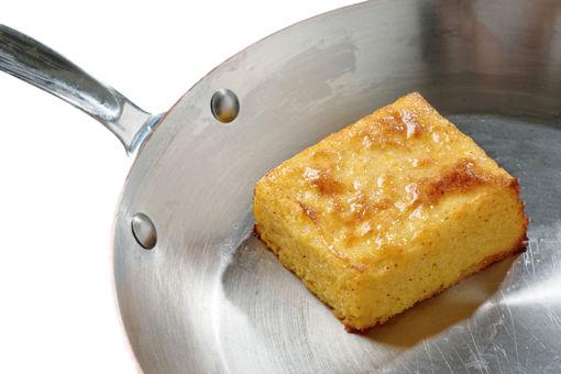 Polentový koláček s variací sýrů, vege, bez lepku, rozvoz po celé Praze