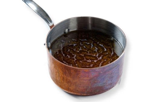 Obrázek Hovězí vývar určený pro další použití v kuchyni