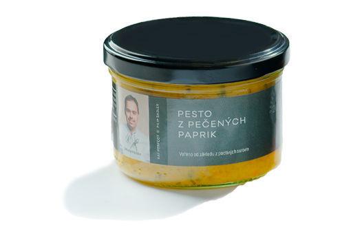 Obrázek Pesto z pečených paprik